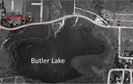 Butler Lake Flood 1938 Labels