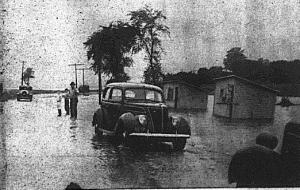 Butler Lake Flood 1938