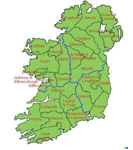 IrishDioceses