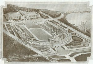 Soldier Field, from souvenir booklet