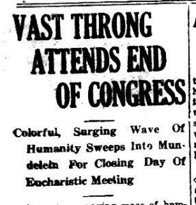 Vast Throng headline 26 June 1926 p1 Lake Co Register0013