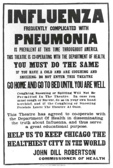 influenza notice chicago