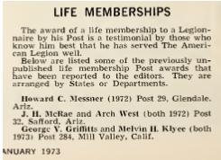 American Legion Magazine, January 1972, p. 44