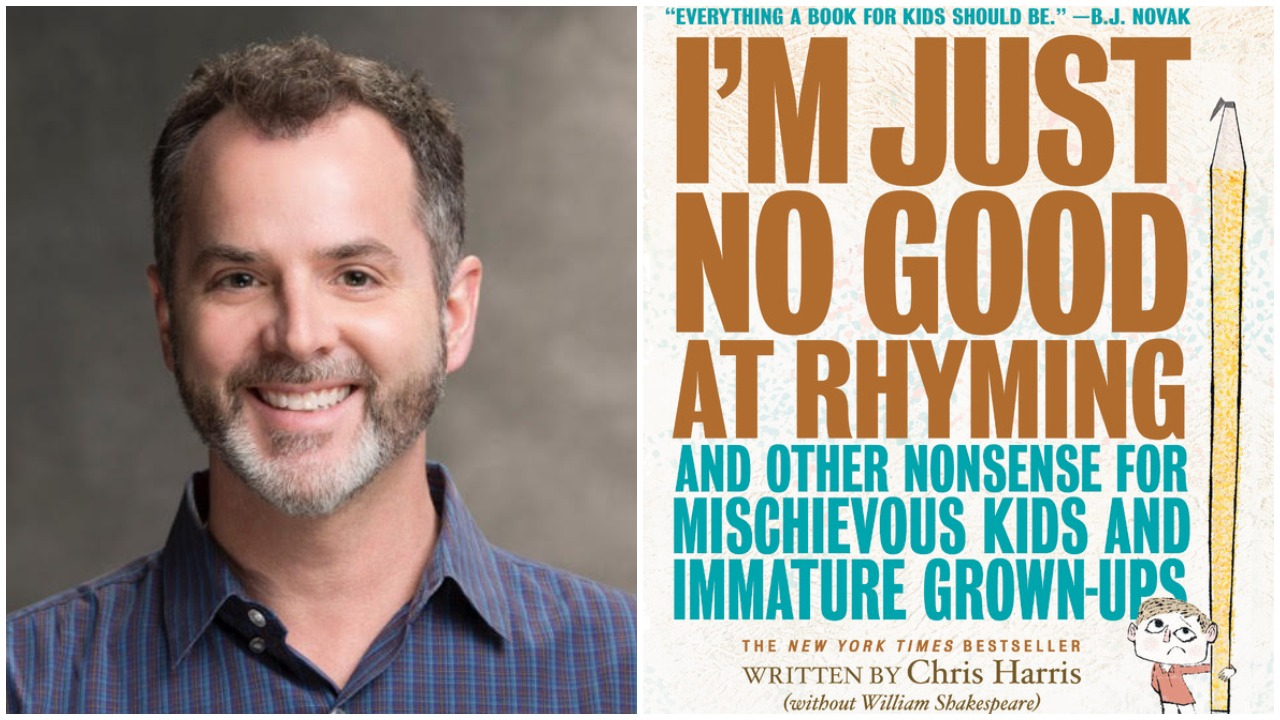 Authors Out Loud: Chris Harris – I'm Just No Good at Rhyming
