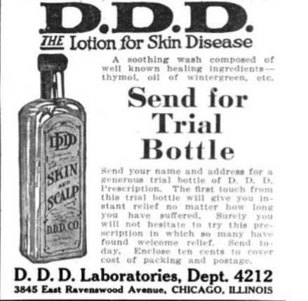 A cure for all that ails you: Patent medicine in Libertyville and Mundelein, 1850-1906.