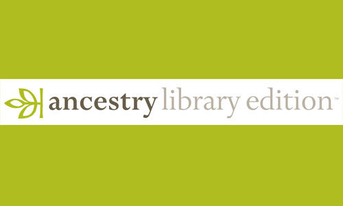 Ancestry Library Edition now available from home