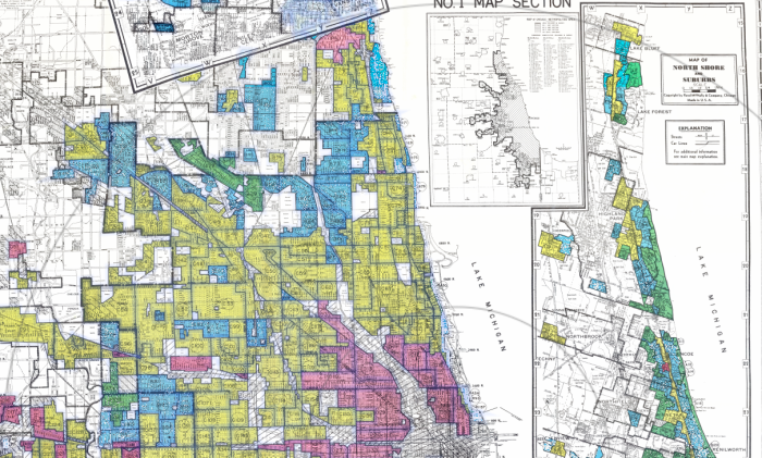 Chicago area redlining