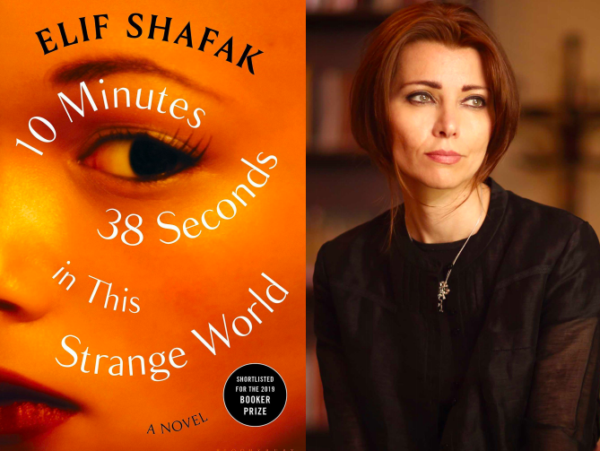 Emily's Pick of the Week: 10 Minutes 38 Seconds in This Strange World by Elif Shafak