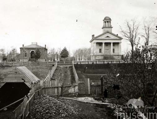 A Courthouse controversy: Libertyville, Waukegan, and the fight for a county seat, 1839-1841.