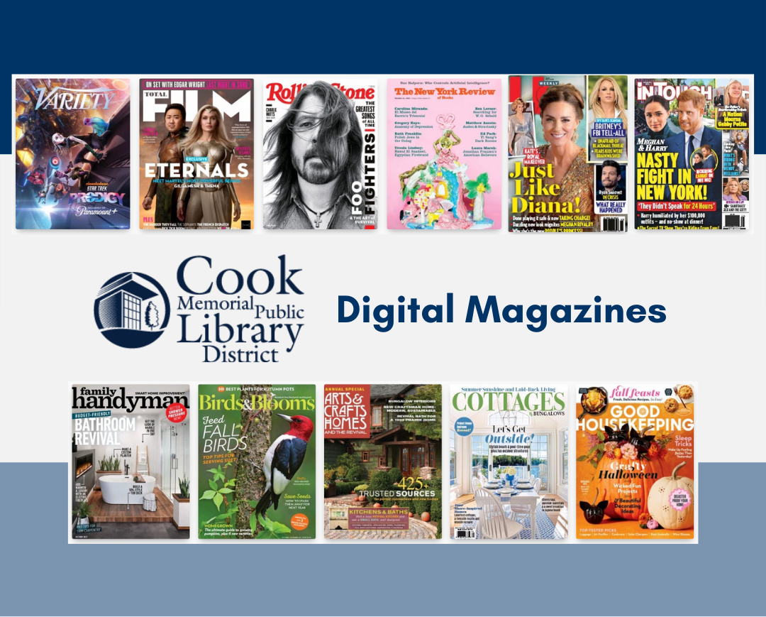 Changes to Digital Magazines